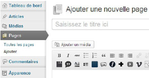 apprendre à utiliser WordPress, CMS de conception de sites web