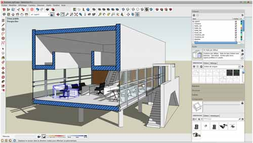 Cours SketchUp - Formation à Nancy (54, Lorraine)