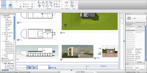 Apprendre Revit - Dessin architecture - Formation