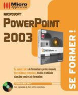 PowerPoint 2003 - Collection Se former ! - Auteurs : Alain MATHIEU & Dominique LEROND - Nombre de pages : 300 pages - ISBN : 978-2-7429-3883-4 - EAN : 9782742938834 - Référence Micro Application : 4883