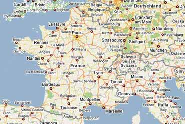 Insertion de cartes Google Maps dans vos pages - MOSAIQUE Informatique - Nancy - 54 - Meurthe et Moselle - Lorraine